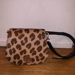 Kate spade leopard bag